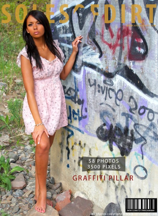 Raisa - `Graffiti Pillar` - for SOLESOFDIRT