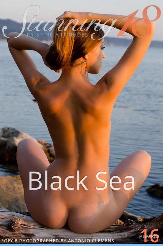 Sofy B - `Black Sea` - by Antonio Clemens for STUNNING18