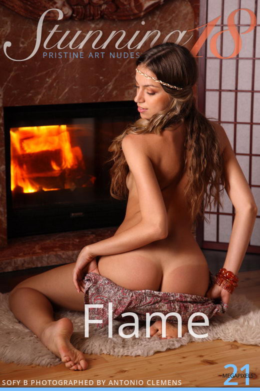 Sofy B - `Flame` - by Antonio Clemens for STUNNING18