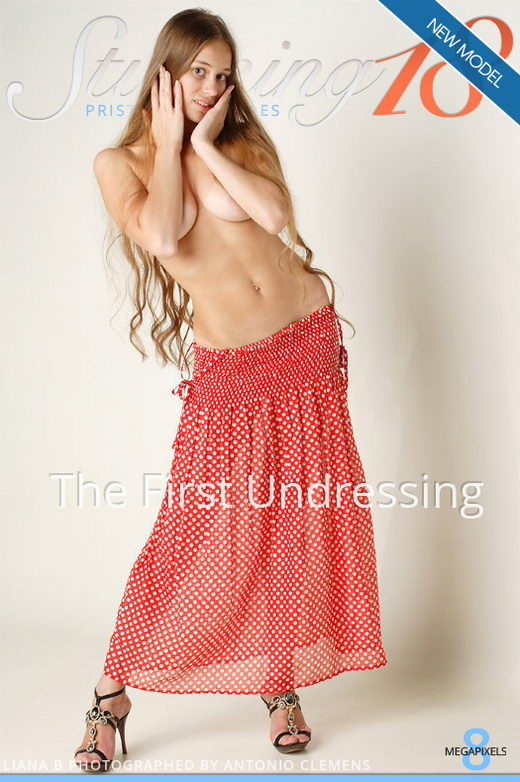 Liana B - `The First Undressing` - by Antonio Clemens for STUNNING18
