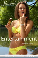 Lucy G in Entertainment video from STUNNING18 by Antonio Clemens