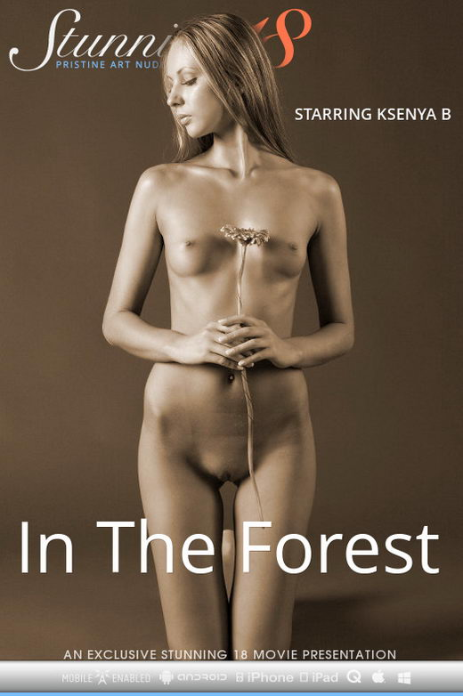 Ksenya B - `In The Forest` - by Antonio Clemens for STUNNING18