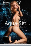 Delilah G in Aqua-set video from STUNNING18 by Antonio Clemens