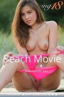 Foxy Salt in Beach Movie video from STUNNING18 by Antonio Clemens