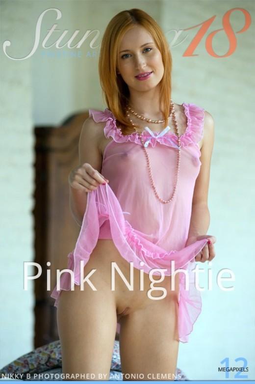 Nikky B - `Pink Nightie` - by Antonio Clemens for STUNNING18