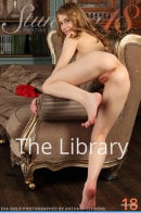 Eva Gold in The Library gallery from STUNNING18 by Antonio Clemens