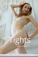 Annett A in Tights video from STUNNING18 by Antonio Clemens