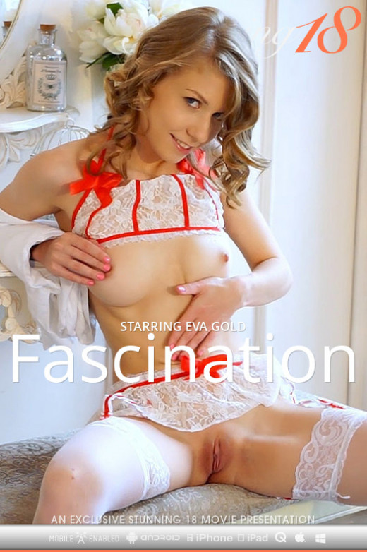 Eva Gold in Fascination video from STUNNING18 by Antonio Clemens
