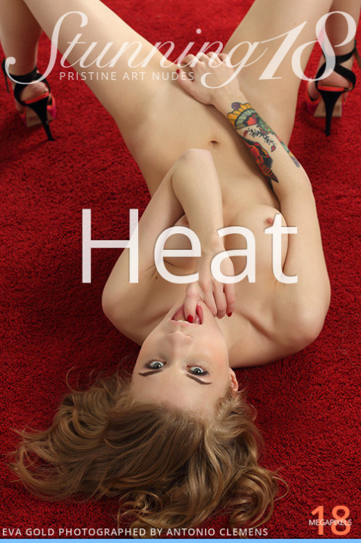 Eva Gold in Heat gallery from STUNNING18 by Antonio Clemens