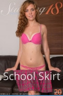Debella Z in School Skirt gallery from STUNNING18 by Antonio Clemens