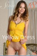 Irene in Yellow Dress gallery from STUNNING18 by Antonio Clemens