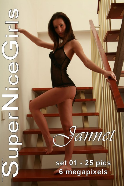 Jannet - `Set #1` - by Jacques Claessen for SUPERNICEGIRLS
