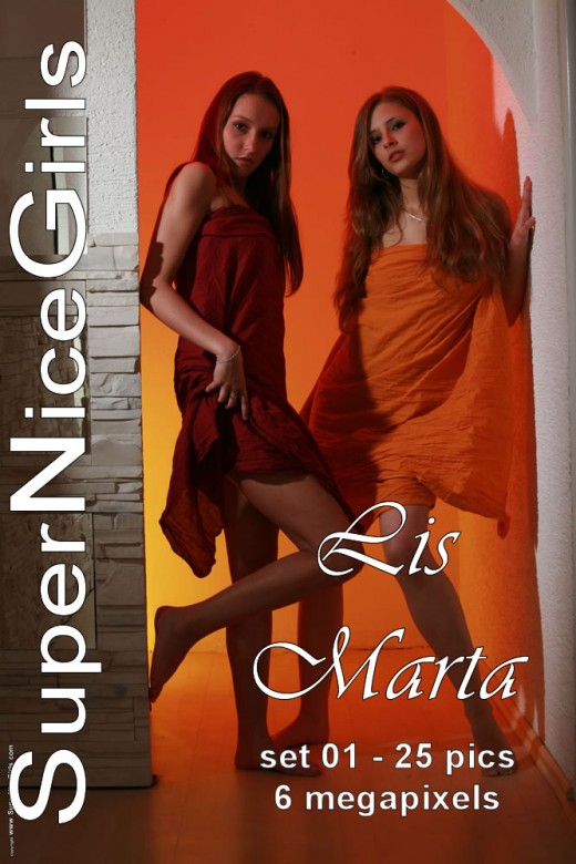 Lis & Marta - `Set #1` - by Jacques Claessen for SUPERNICEGIRLS