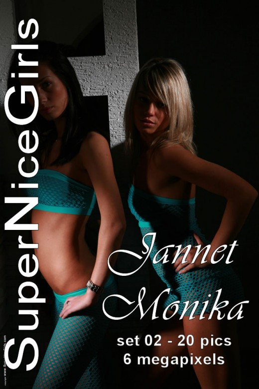 Jannet & Monika - `Set #2` - by Jacques Claessen for SUPERNICEGIRLS
