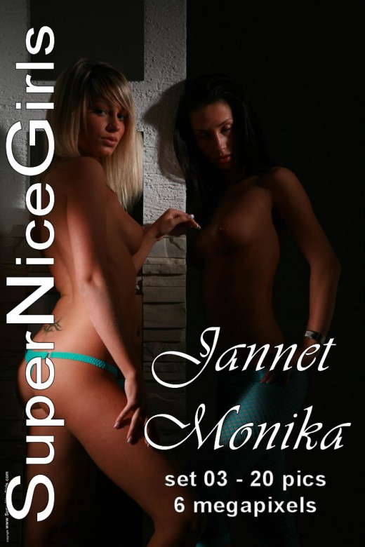 Jannet & Monika - `Set #3` - by Jacques Claessen for SUPERNICEGIRLS