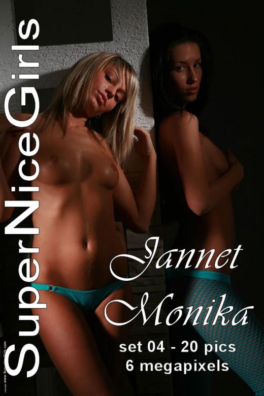 Jannet & Monika - `Set #4` - by Jacques Claessen for SUPERNICEGIRLS