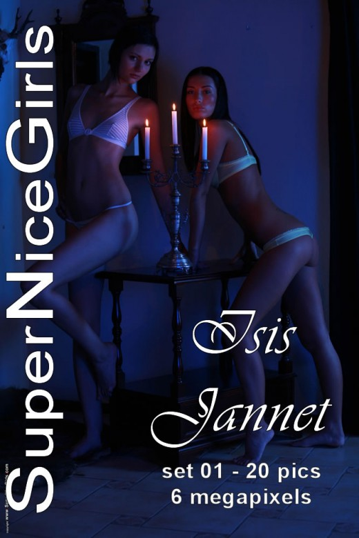 Isis & Jannet - `Set #1` - by Jacques Claessen for SUPERNICEGIRLS