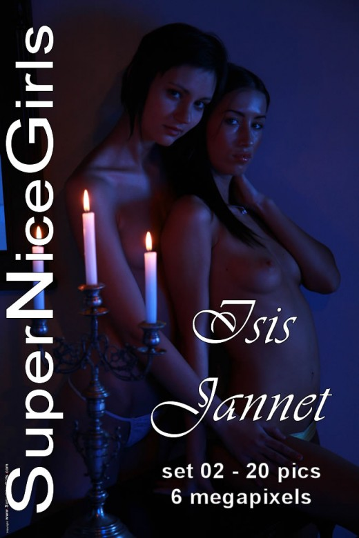 Isis & Jannet - `Set #2` - by Jacques Claessen for SUPERNICEGIRLS