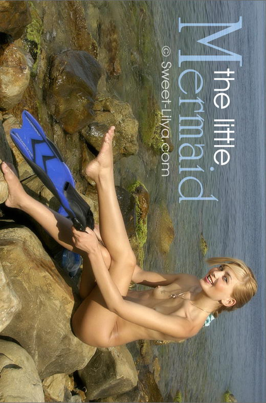 Lilya - `1410-Dup The Little Mermaid` - by Alexander Lobanov for SWEET-LILYA