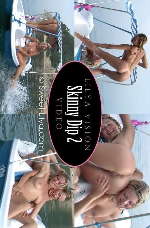 Lilya & Valia - `3032 Video Skinny Dip 2` - by Alexander Lobanov for SWEET-LILYA