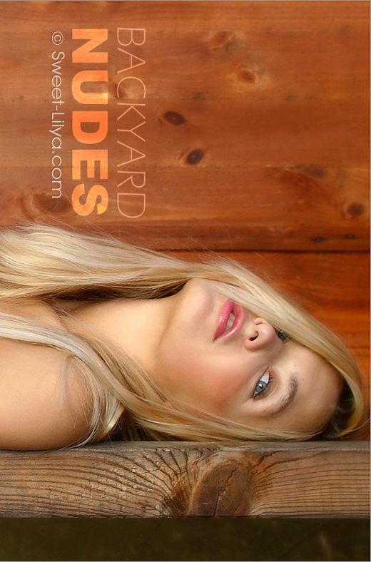 Lilya - `3061-Pro Backyard Nudes 1` - by Alexander Lobanov for SWEET-LILYA