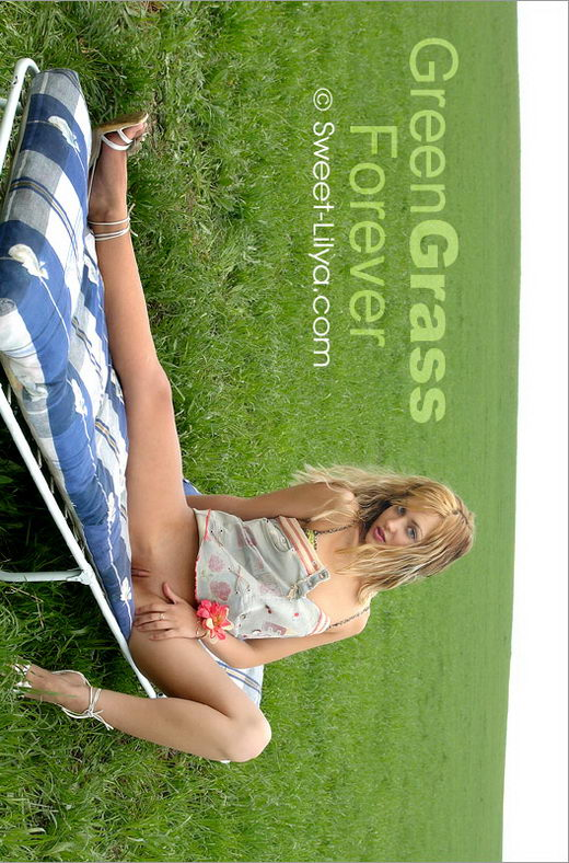 Lilya - `3068-Pro Green Grass Forever` - by Alexander Lobanov for SWEET-LILYA