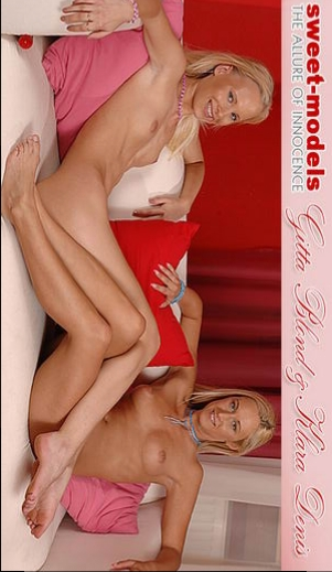 Denyse & Gitta Blond - `7800` - for SWEETMODELS
