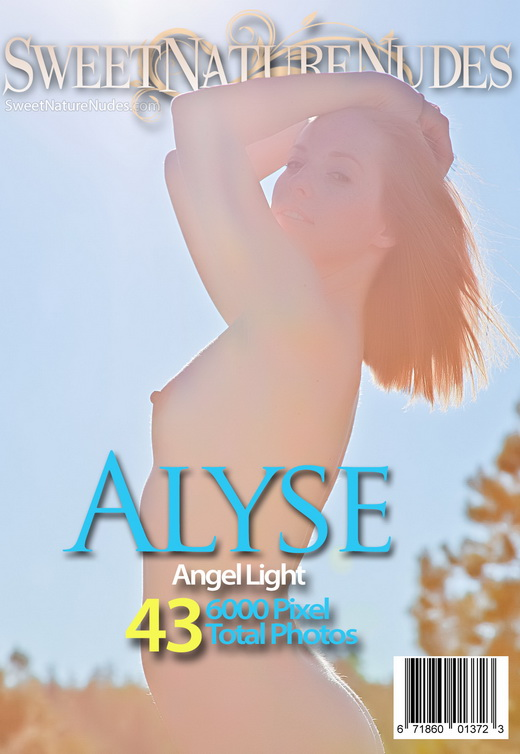 Alyse - `Angel Light` - by David Weisenbarger for SWEETNATURENUDES