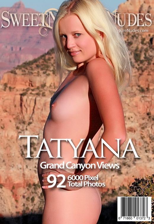 Tatyana - `Grand Canyon Views` - by David Weisenbarger for SWEETNATURENUDES