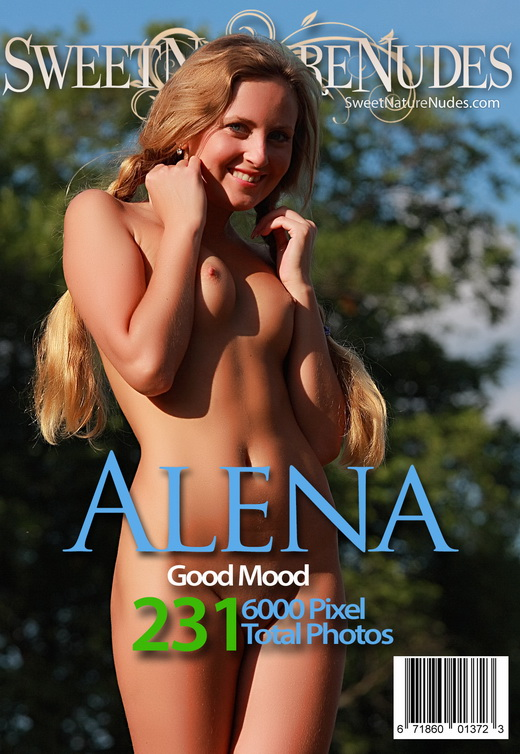 Alena - `Good Mood` - by David Weisenbarger for SWEETNATURENUDES