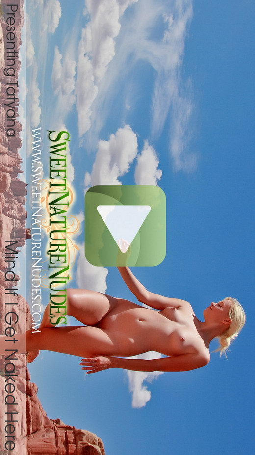 Tatyana - `Mind If I Get Naked Here` - by David Weisenbarger for SWEETNATURENUDES