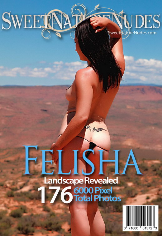 Felisha - `Landscape Revealed` - by David Weisenbarger for SWEETNATURENUDES
