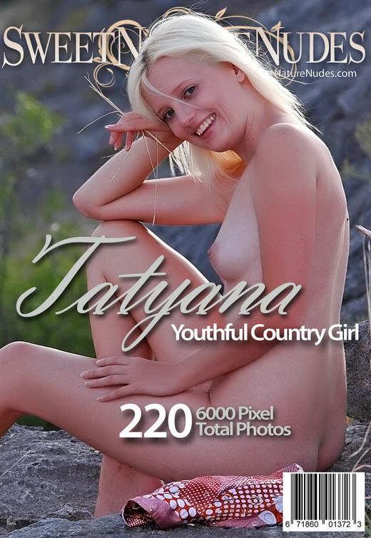 Tatyana - `Youthful Country Girl` - by David Weisenbarger for SWEETNATURENUDES