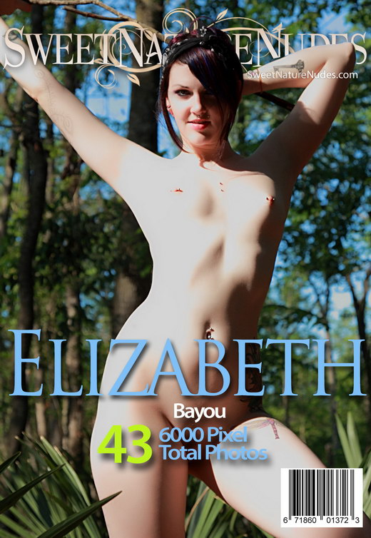 Elizabeth - `Bayou` - by David Weisenbarger for SWEETNATURENUDES