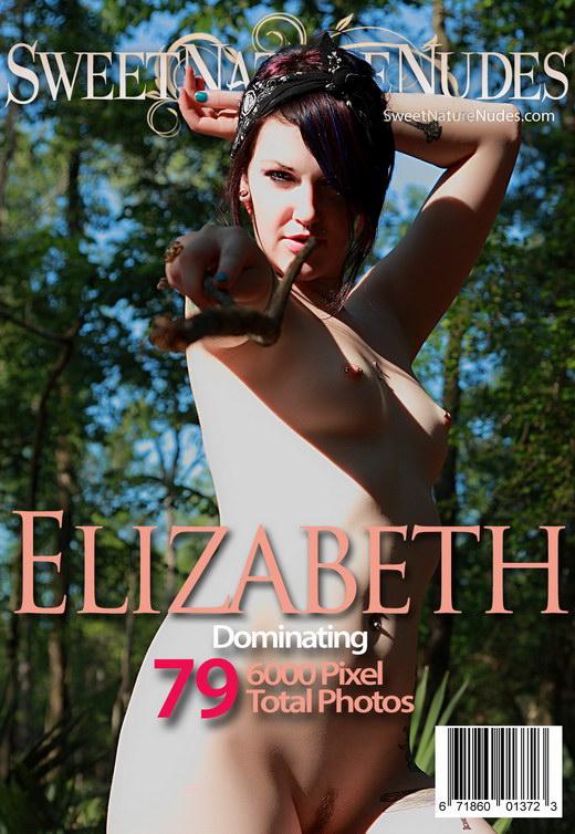 Elizabeth - `Dominating` - by David Weisenbarger for SWEETNATURENUDES