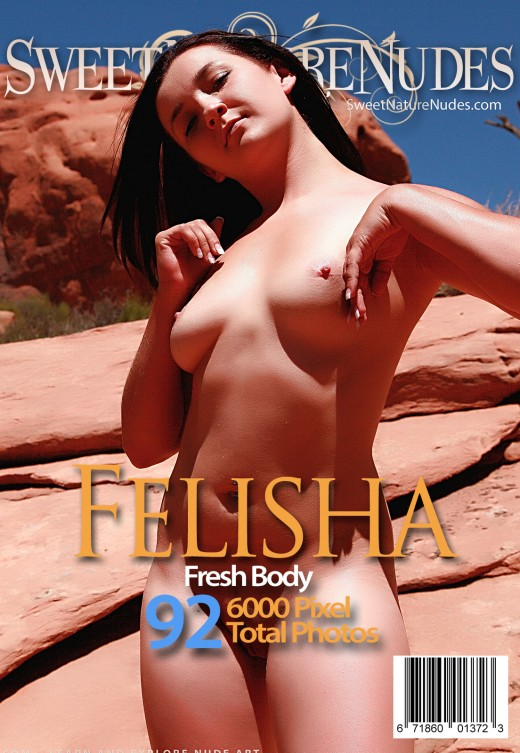 Felisha - `Fresh Body` - by David Weisenbarger for SWEETNATURENUDES
