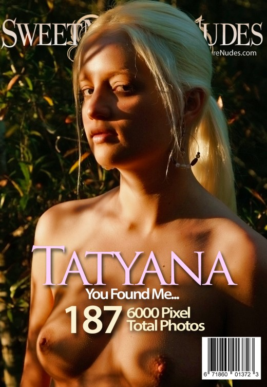 Tatyana - `You Found Me` - by David Weisenbarger for SWEETNATURENUDES