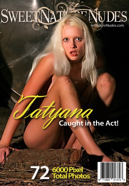 Tatyana - `Caught In The Act` - by David Weisenbarger for SWEETNATURENUDES