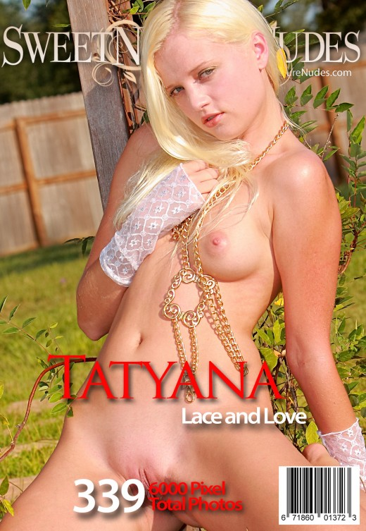 Tatyana - `Lace And Love` - by David Weisenbarger for SWEETNATURENUDES