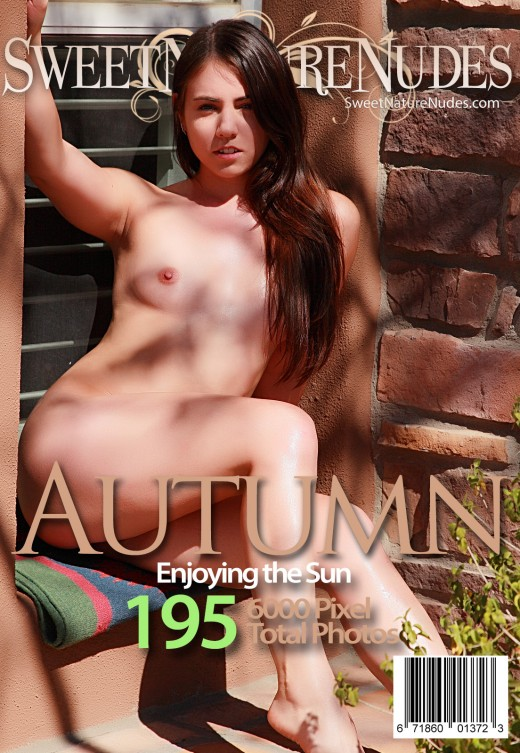 Autumn - `Enjoying The Sun` - by David Weisenbarger for SWEETNATURENUDES