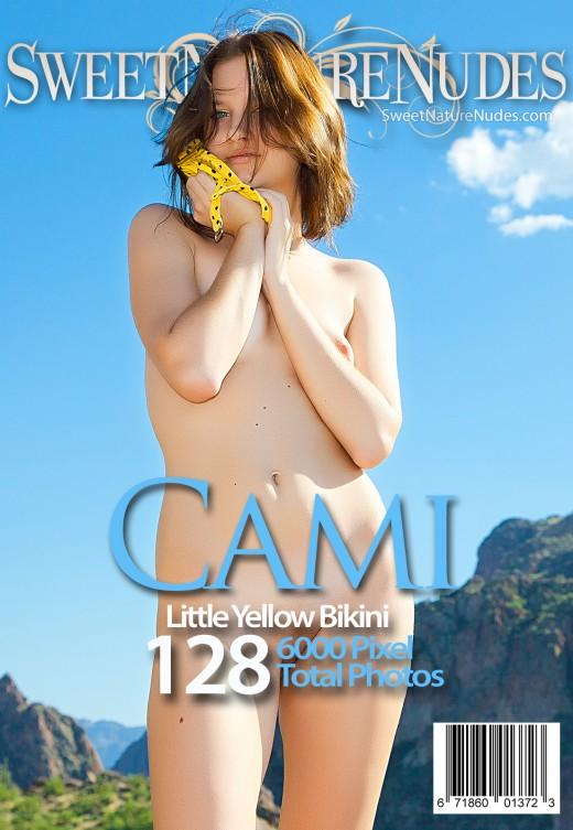 Cami - `Little Yellow Bikini` - by David Weisenbarger for SWEETNATURENUDES