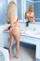 Cayla Loves Morning Masturbation In The Bathtub Shower gallery from TEENDREAMS