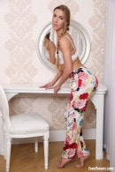 Alexis Crystal With A White Bra And Floral Pants gallery from TEENDREAMS