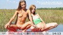 Nastya &	Ashly in Cute Teens video from TEENPORNSTORAGE