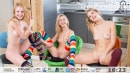 Alisha & Lagoda & Runa in Playful Kisses Video video from TEENPORNSTORAGE