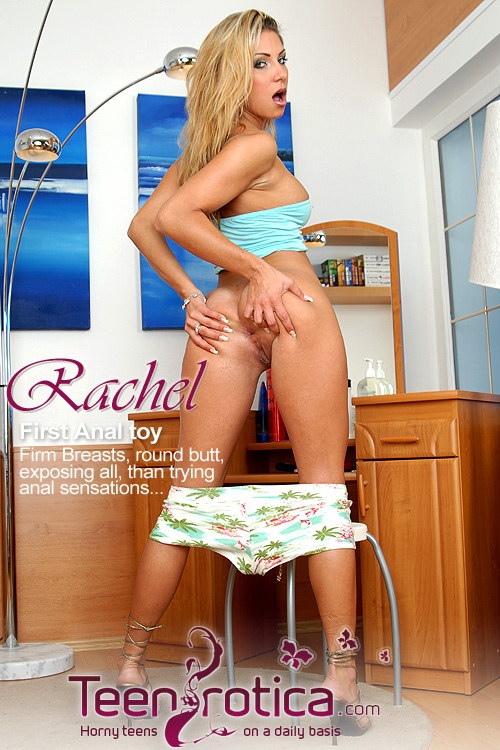 Rachel - `First time anal` - by Patrik Ryan for TEENROTICA