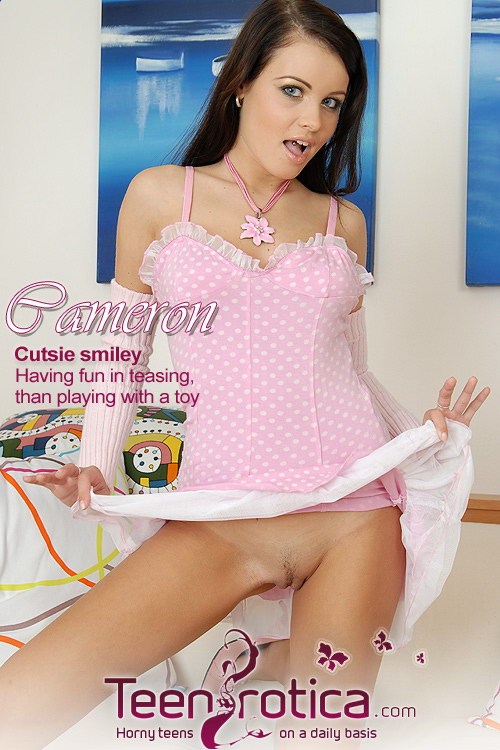 Cameron - `Cutsie smiley` - by Patrik Ryan for TEENROTICA