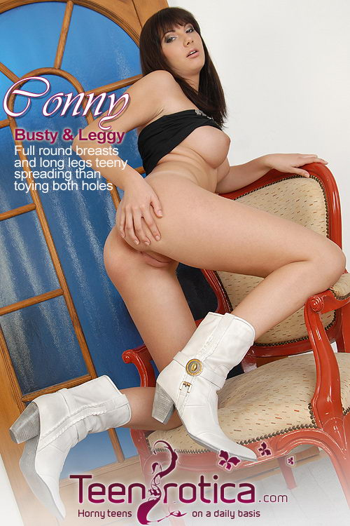 Conny - `Busty and Leggy` - by Patrik Ryan for TEENROTICA