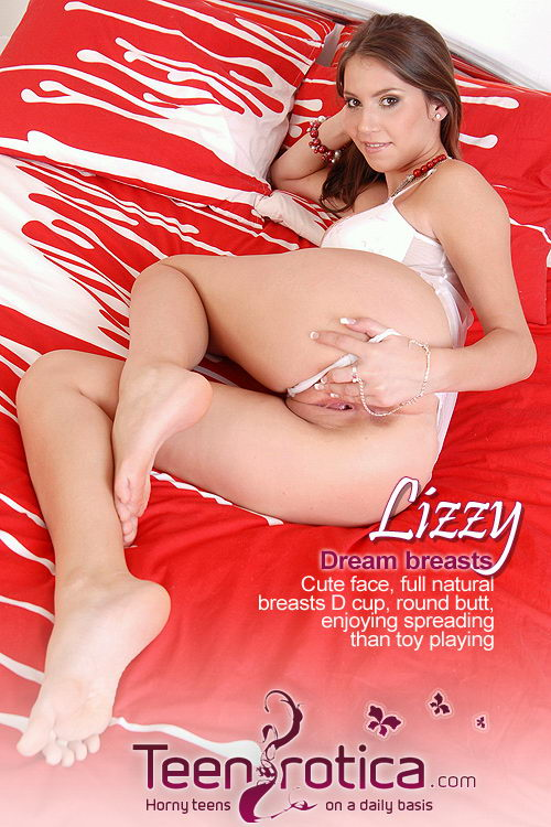 Lizzy - `Dream Breasts` - by Patrik Ryan for TEENROTICA