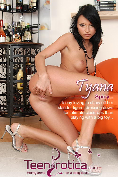Tyana - `Spicy` - by Patrik Ryan for TEENROTICA